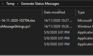 Using PowerShell script to extract the status messages for SMS provider, Site and client in Configuration Manager