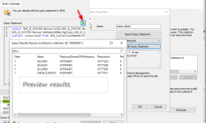 SCCM Collection for devices online with green checkmark