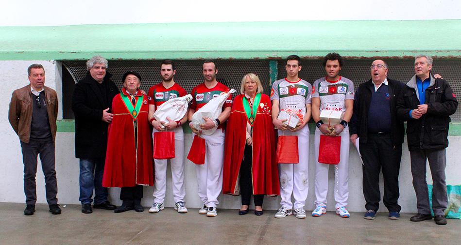 Etcheverry-Harismendy remportent le tournoi du jambon