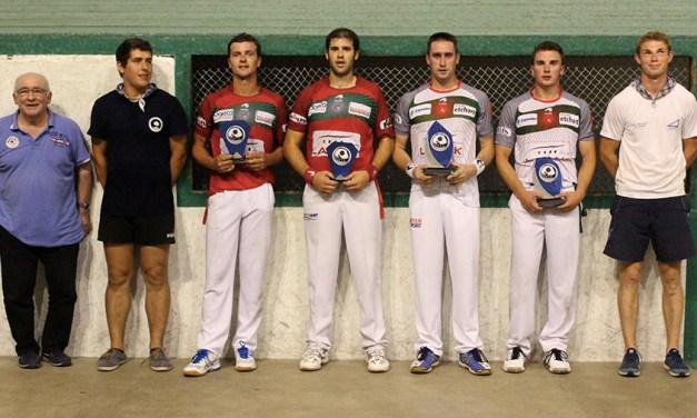 Bideondo-Çubiat remportent le tournoi d'Amotz