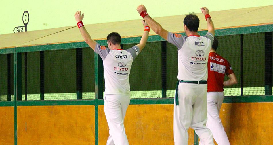 Elgart-Sanchez et Bielle-Çubiat en finale à Macaye