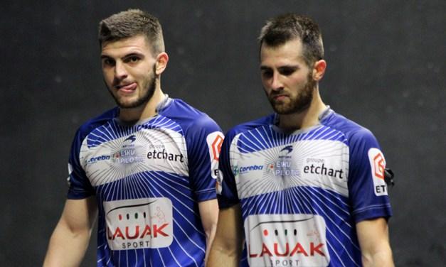 Etcheverry-Larralde remportent leur défi contre Ducassou