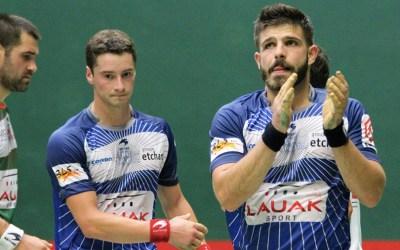 Larralde-Guichandut et Waltary-Ducassou en finale à Arcangues