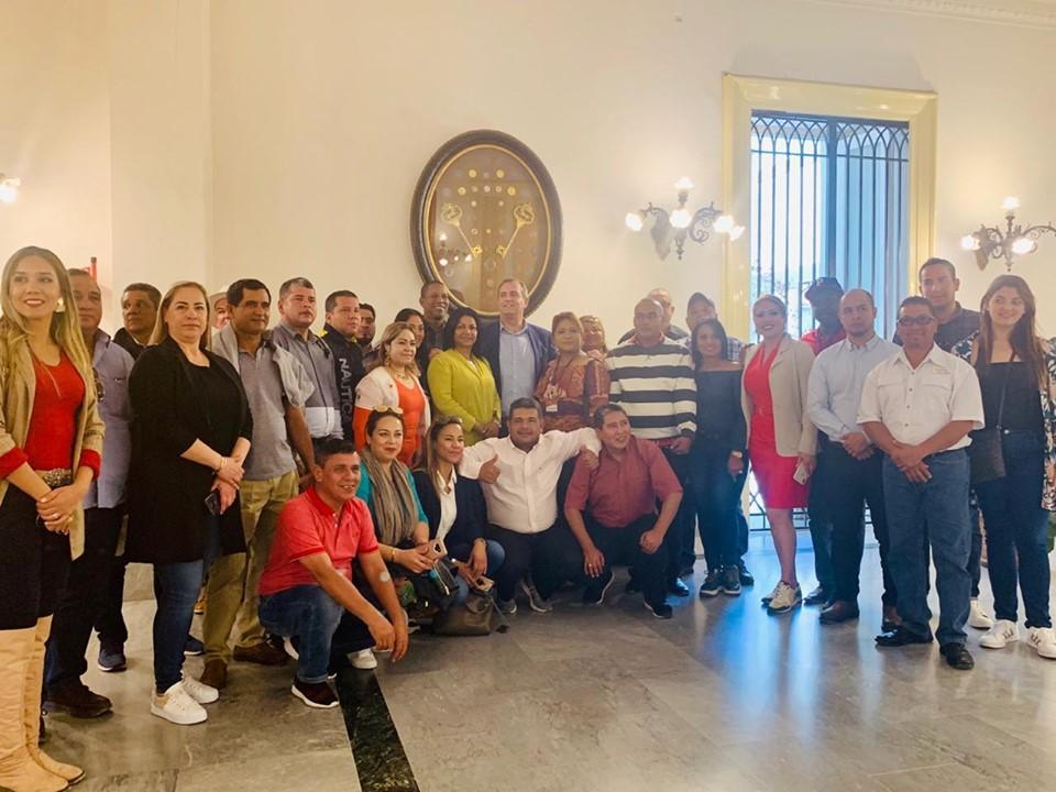 Alcaldes de Napoli y El Fuerte proponen distintivo de «Ciudades hermanas»