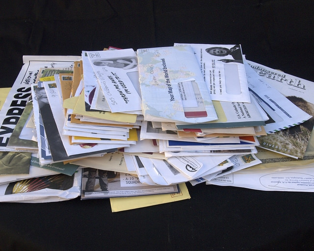 junk mail prop