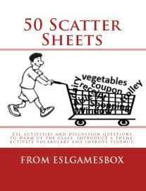 50 scatter sheets warm up book