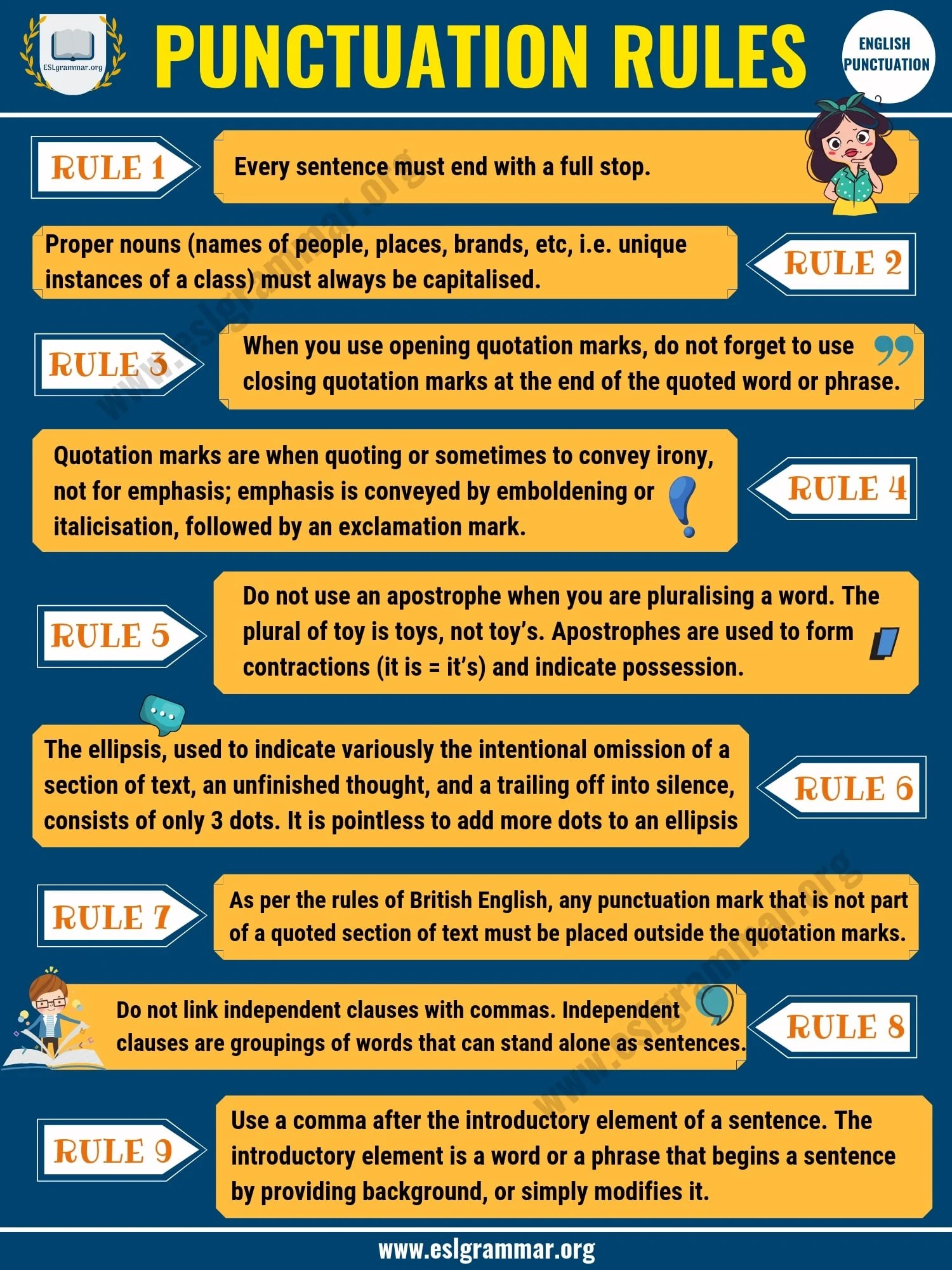 Punctuation Rules 9 Important Rules You Must Know