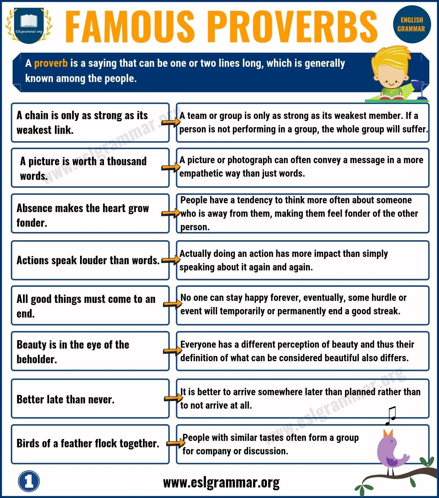 Friendship Proverbs Worksheet