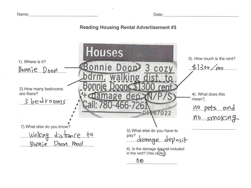 Reading Housing Rental Ad 2 Amp 3