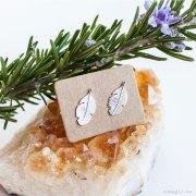 pendientes plata 925 plumas esmagic tienda online