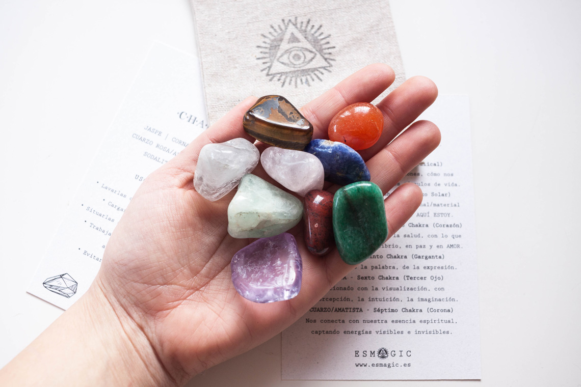 Kit Gemas Chakras Esmagic