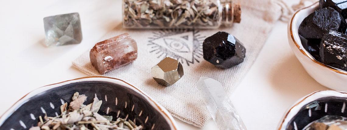 limpieza y carga energética minerales y cristtales Esmagic
