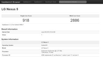 Nexus5BenchMarkAndroidM