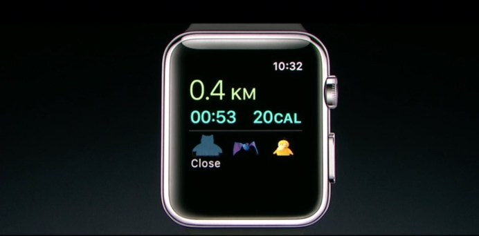 Pokemon Go Apple Watch 1