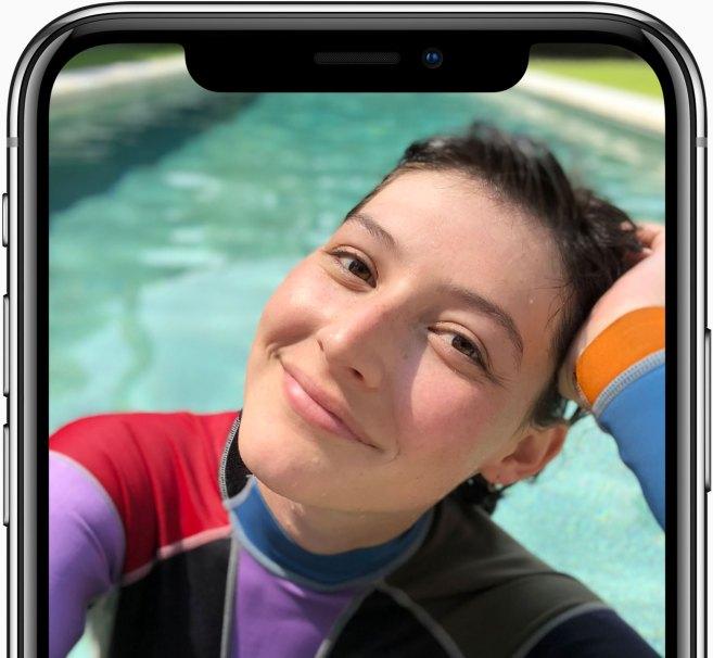 iPhone X True Depht Front