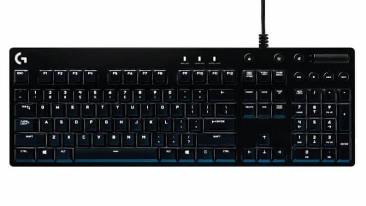 Logitech G610 Software