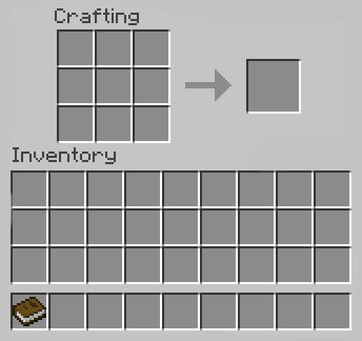 Make a Book in Minecraft
