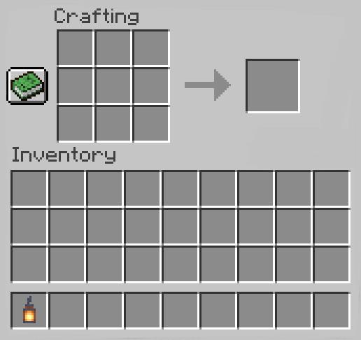 Make a Lantern in Minecraft