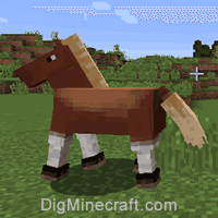 Step How to Breed Horses in Minecraft