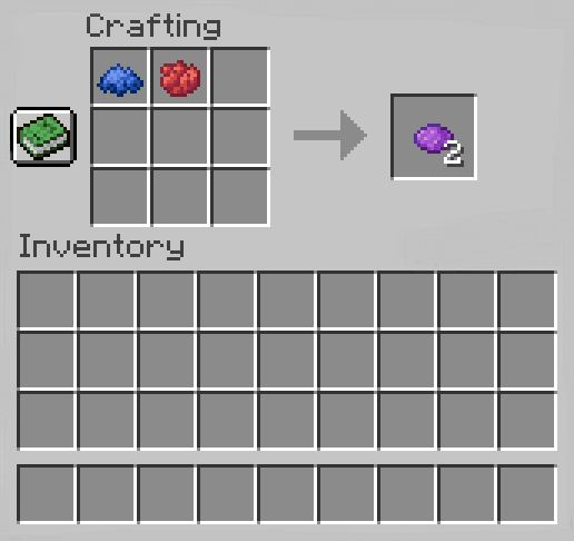 How To Make Purple Dye In Minecraft
