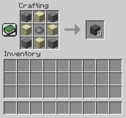 How to Make Gray Concrete Powder in Minecraft