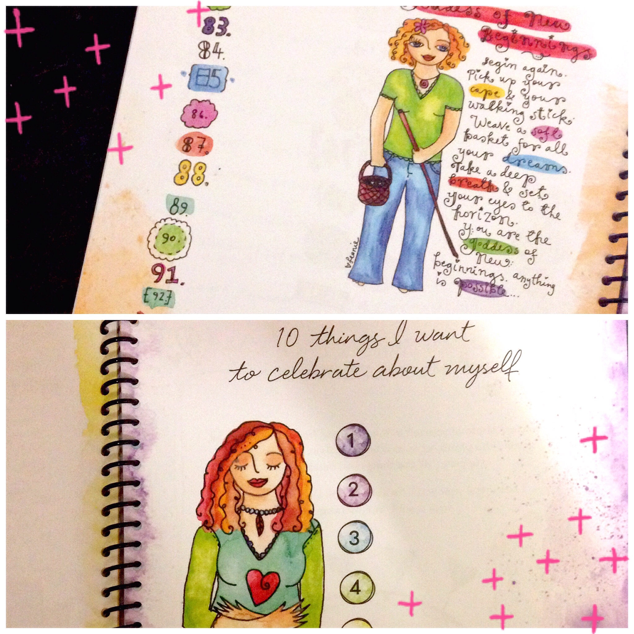Create Your Shining Year Workbook Esmerical