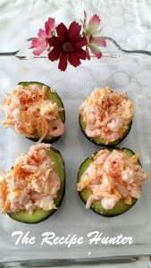 Avocado with Shrimps 1