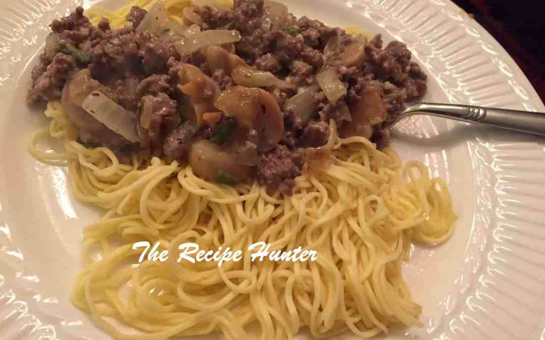 Angelhair Pasta with Lean mince