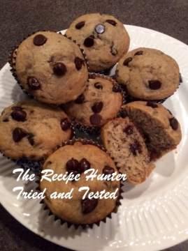 TRH Banana Chocolate muffins