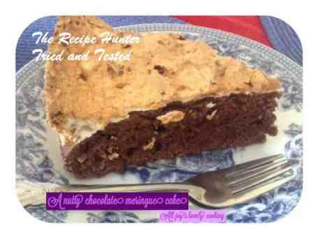TRH Chocolate Meringue Cake