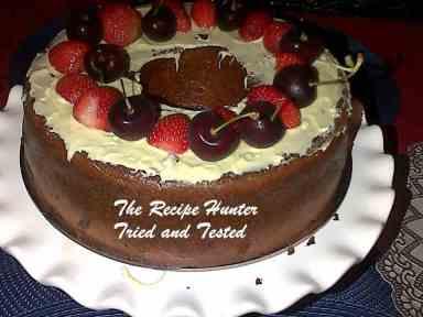 TRH Savarin Cake