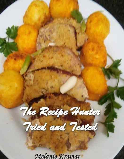 Melanie's Crusted Kassler Chops, Potatoes, Carrots and Red Onions