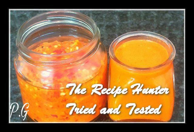 Priscilla's Chilli Paste and Chilli Sauce
