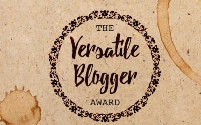 Versatile Blogger Award 2