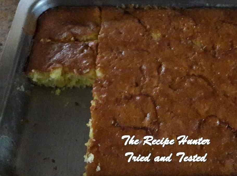 Fatima's Dutch Apple Pudding
