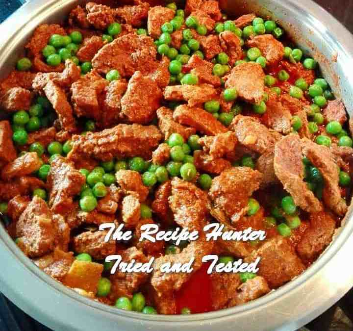 Irene's Steak & Peas Curry