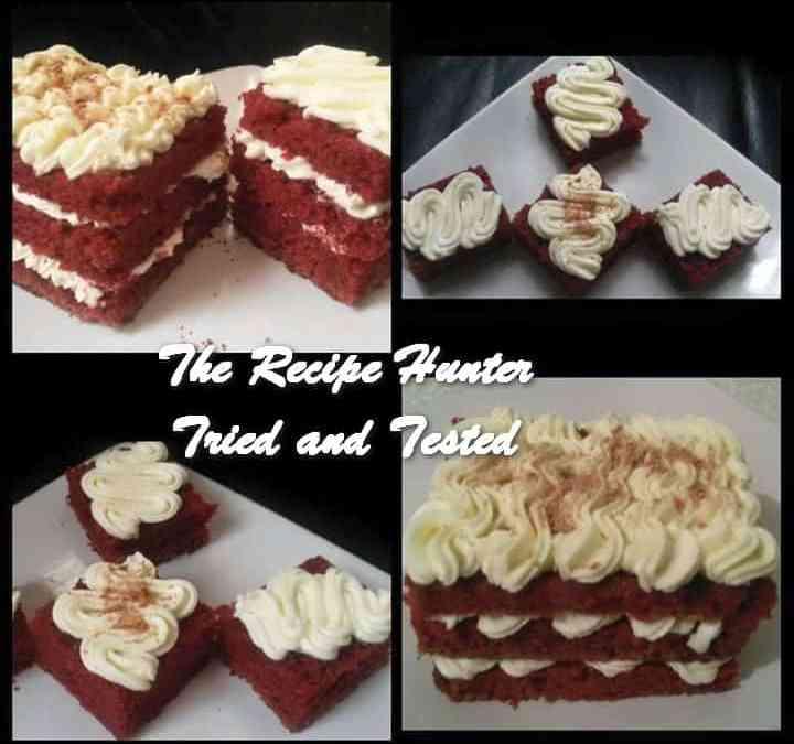 Reshika's Moist Red velvet cake
