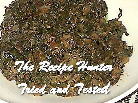 Thilleshni's Braised Red Herbs