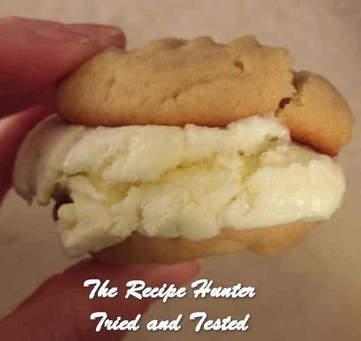 Corlea's Peanut Butter Ice Cream Sandwiches