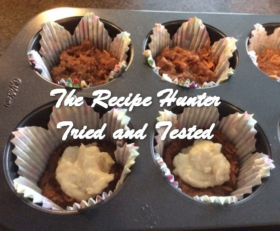 Es's Gluten-Free Carrot Cupcakes with Cream Cheese filling