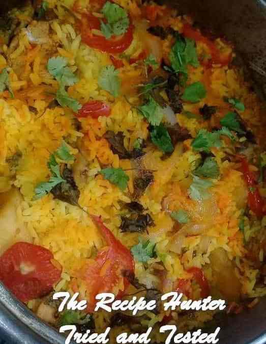 Farah's Kashmiri Malay Chicken Breyani