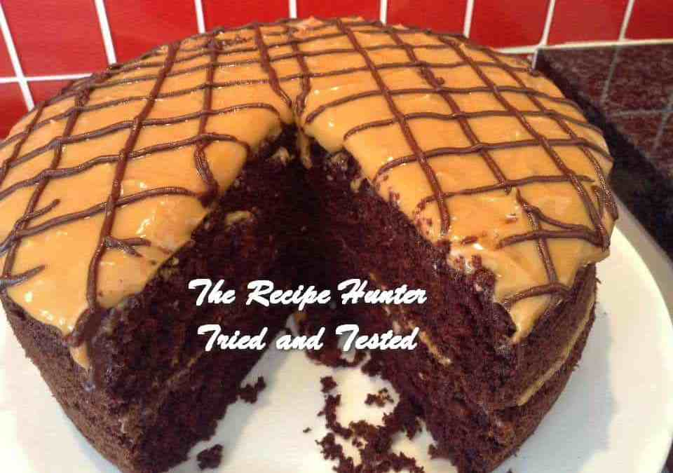 Gail's Chocolate Caramel Cake