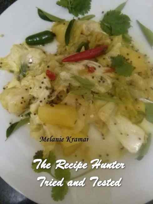 TRH Melanie's Braised Cabbage and Potato