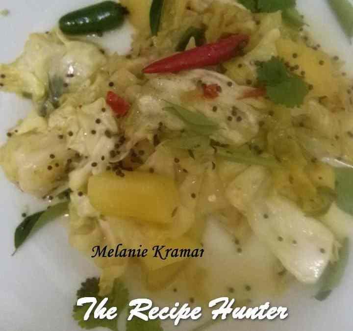 Melanie's Braised Cabbage and Potato