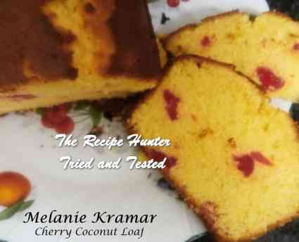 TRH Melanie's Coconut Cherry Loaf