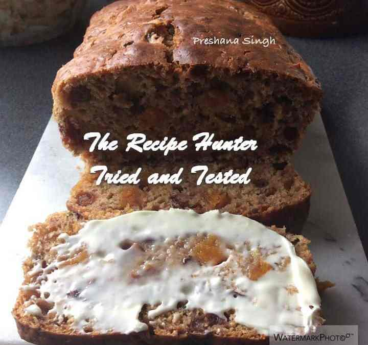 Preshana's Fat Free Yorkshire Tea Loaf