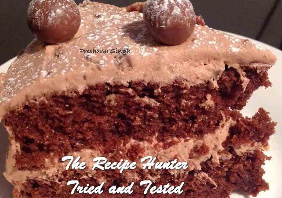 Preshana's Malted Chocolate Cake