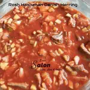Rosh Hashanah Danish Herring