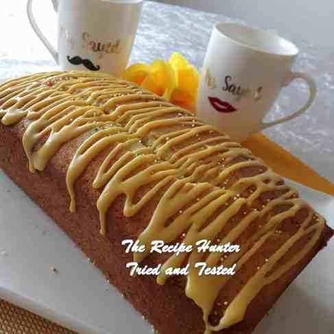 TRH Jameela's Lemon Madiera Loaf