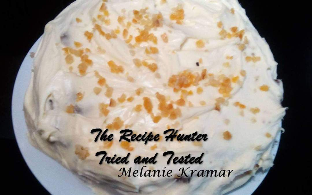Melanie's Carrot Cake with Citrus Peel and Mascarpone Frosting